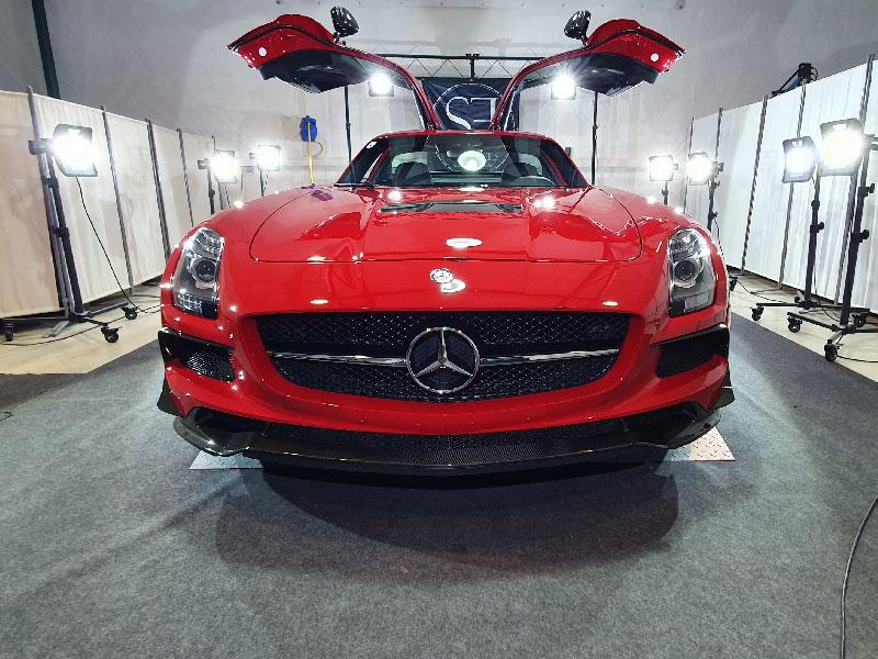 Mercedes SLS BlackSerie